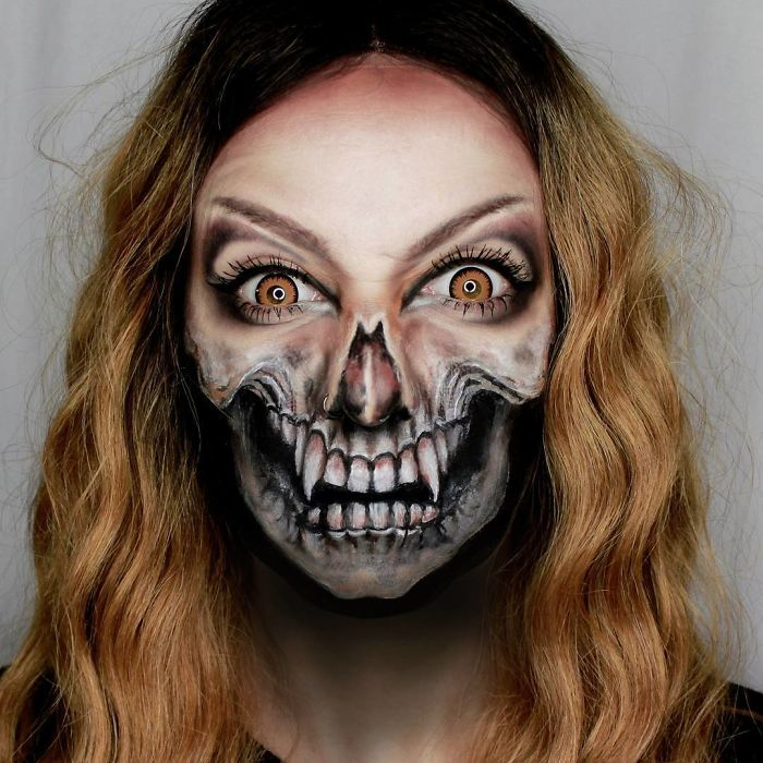 I Create Creepy And Creative Make-UPS