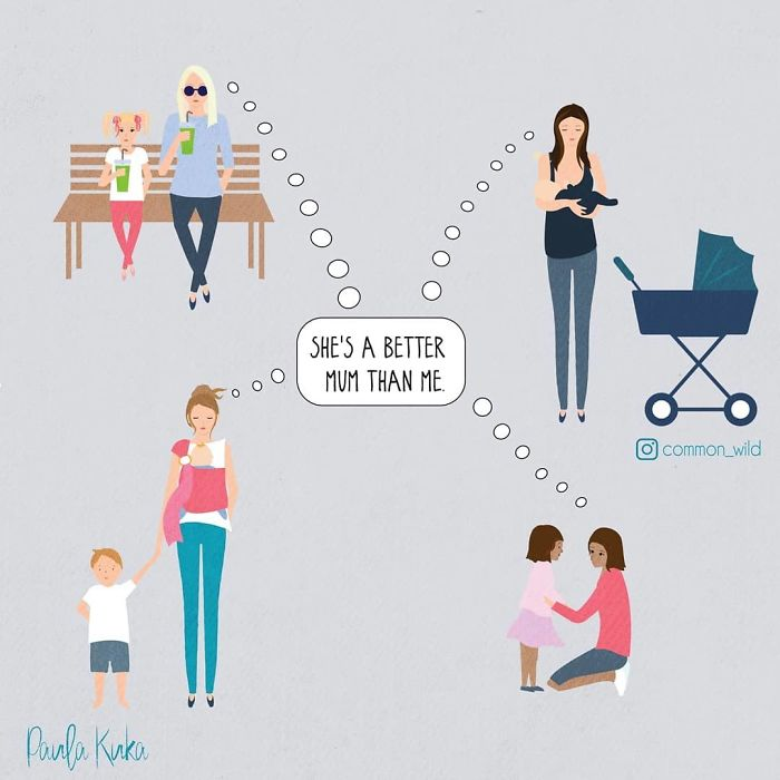 Mother-Drawing-Comics-Parenthood-Paula-Kuka