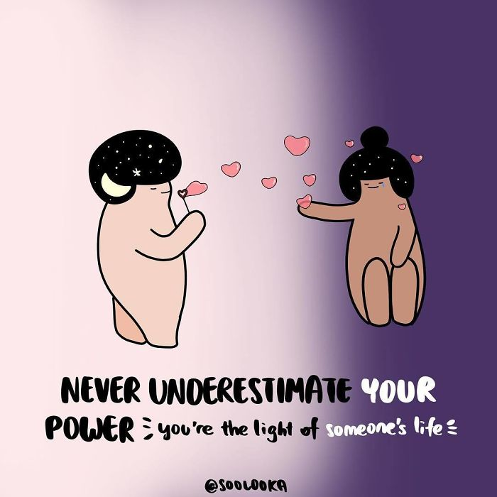 I Draw Cute Illustrations To Remind All Of Us That We Deserve Love And Joy