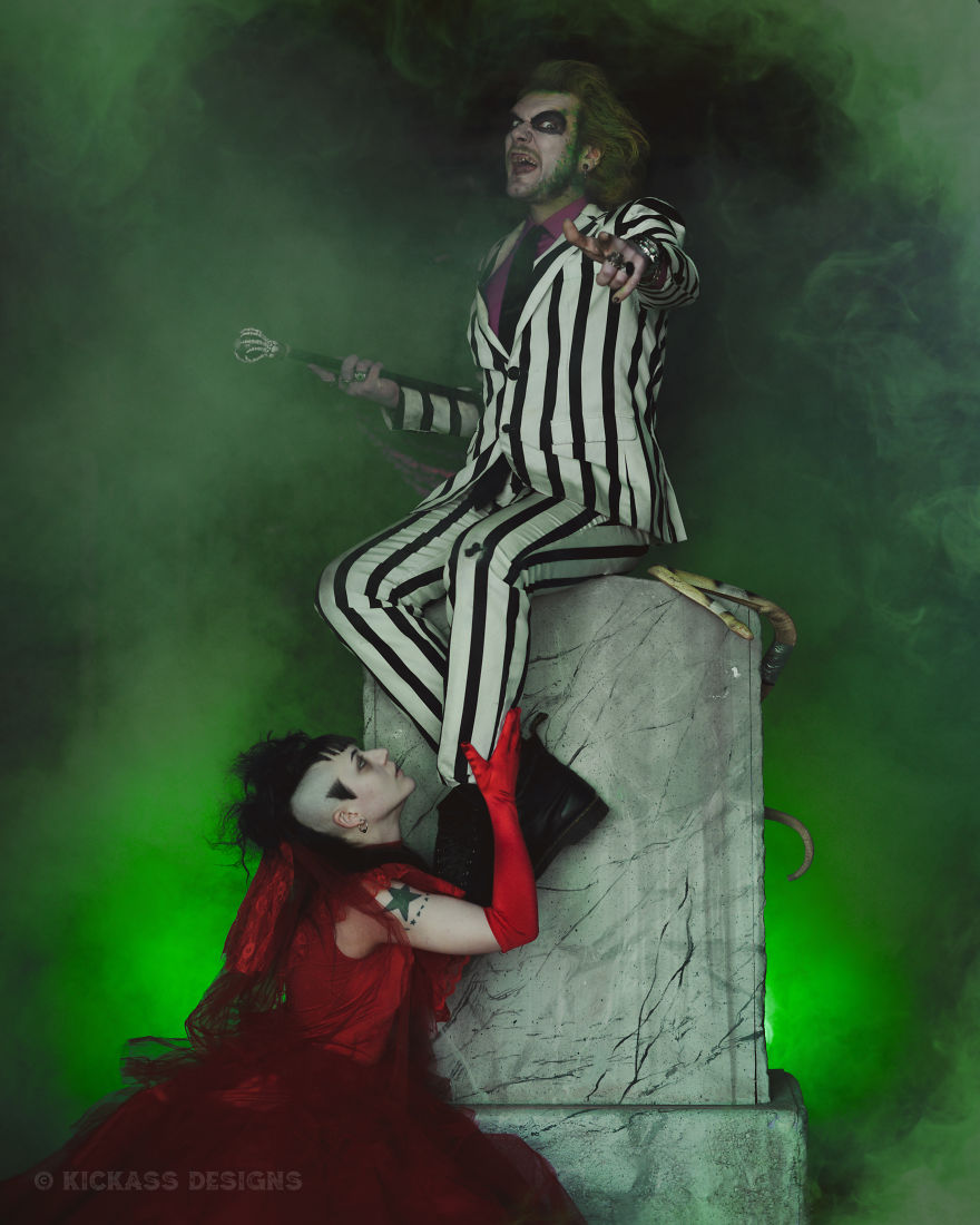 This Is The Best Beetlejuice & Lydia Cosplay Of 2019