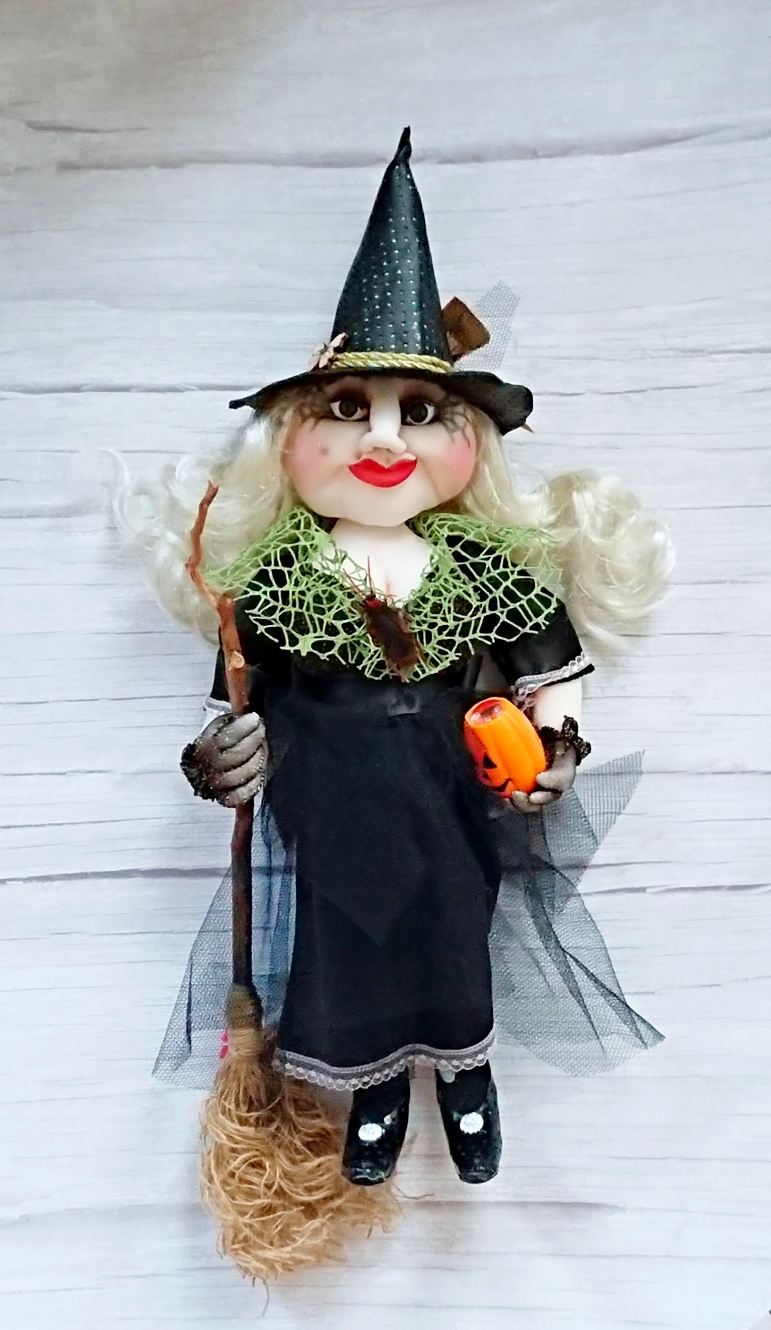 Halloween Textile Interior Witch.