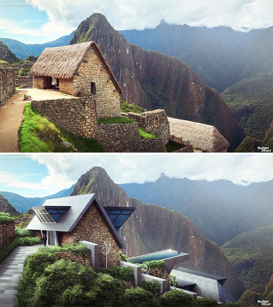 Incan Houses Renovated (Peru)