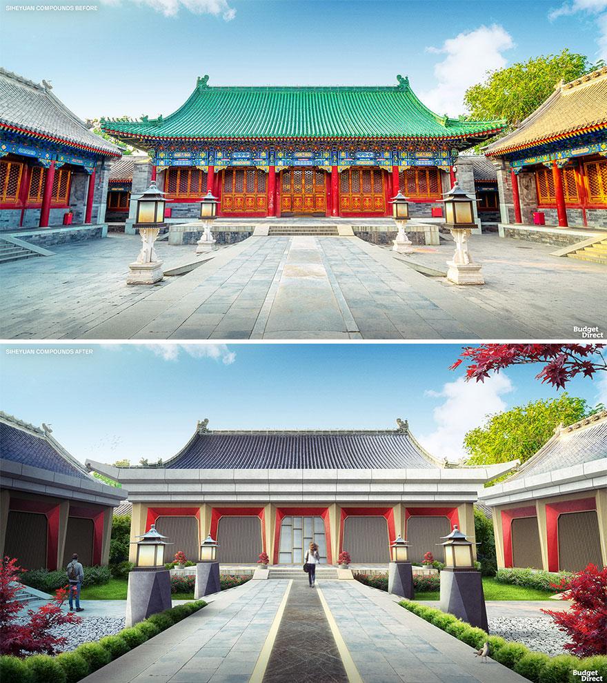 Siheyuan Compounds Renovated (China)