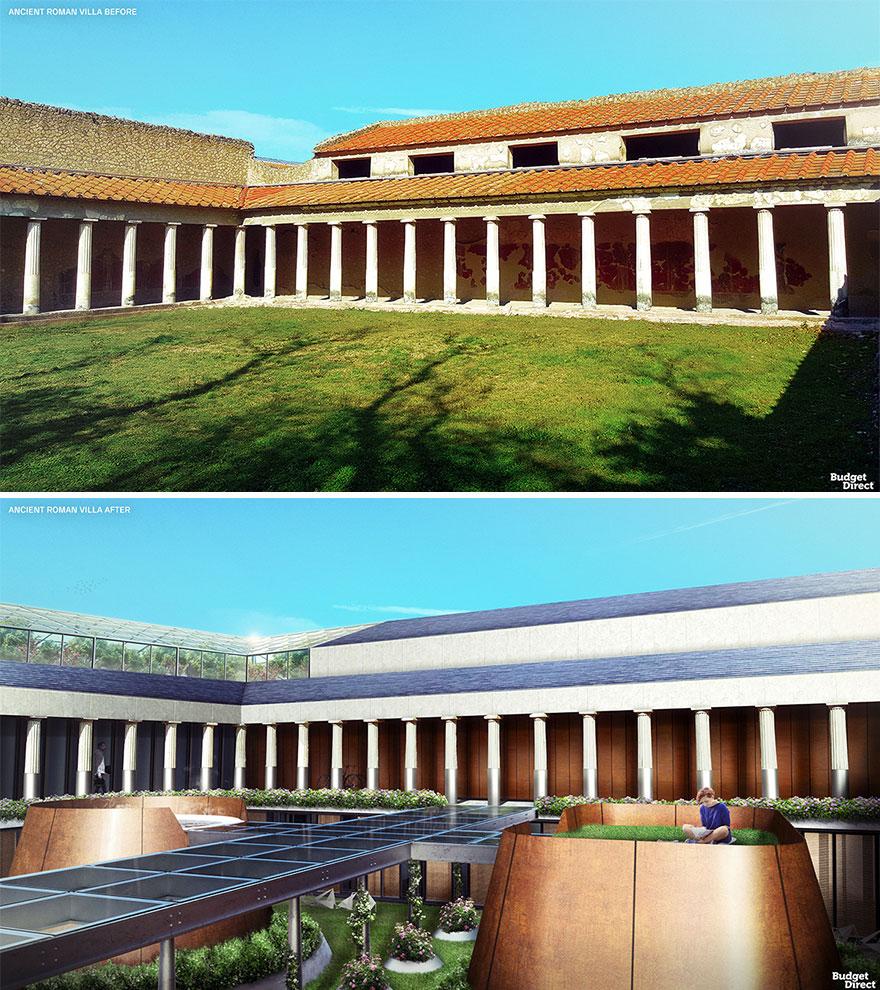 Ancient Roman Villa Renovated (Italy)