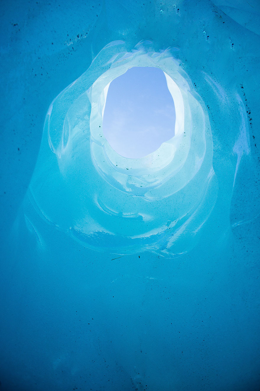 Have You Ever Been Inside A Glacier?