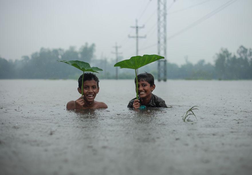 Enjoy The Rain, Amdad Hossain, Bangladesh