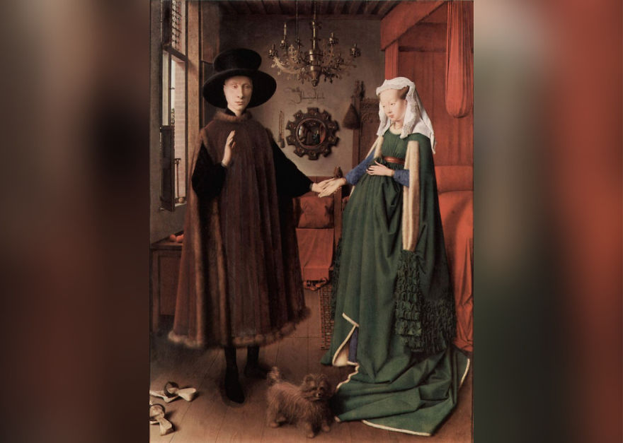 Andolfini Portrait, Jan Van Eyck, 1434