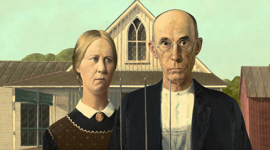 American Gothic, Grant Wood, 1930