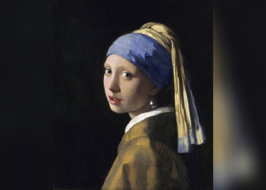 Girl With A Pearl Earring, Johannes Vermeer, 1665