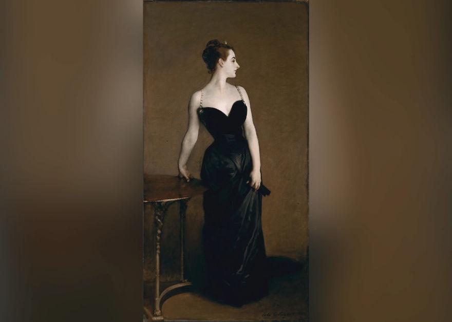 Portrait Of Madame X, John Singer Sargent, 1883–84