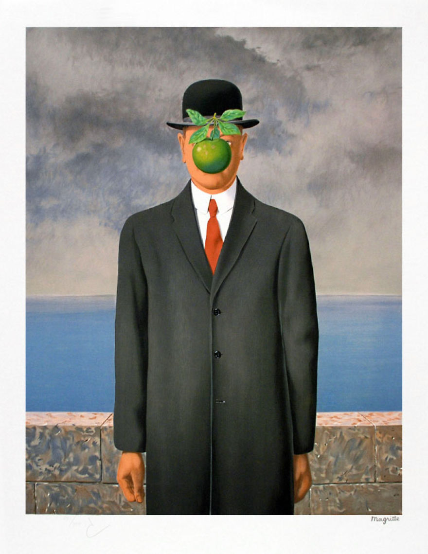 The Son Of Man, René Magritte, 1946