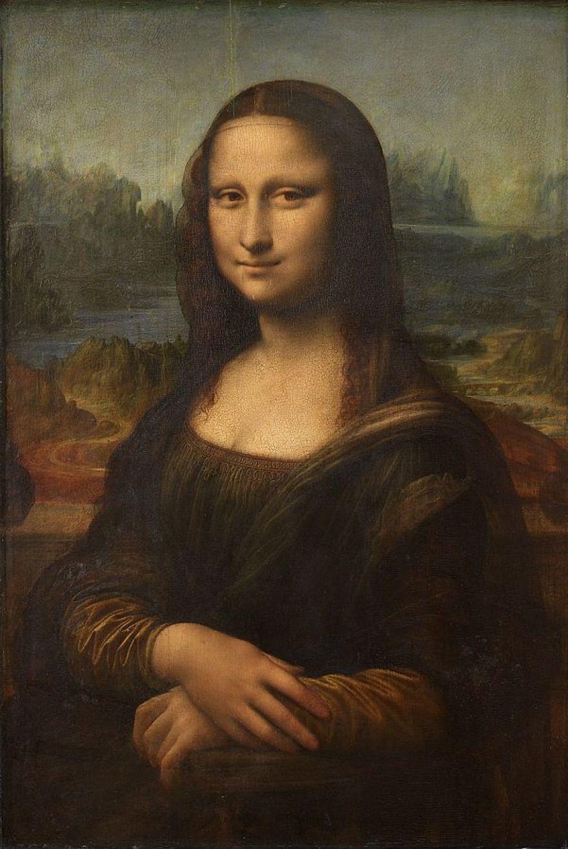 Mona Lisa, Leonardo Da Vinci, 1503