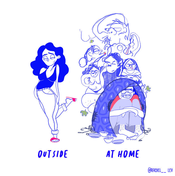 I Create Fun And Colorful Illustrations To Laugh At Problems Women Often Over-Think (20 Pics)