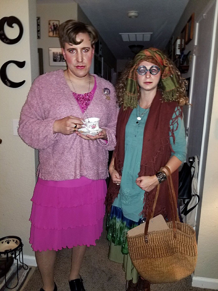 Unfortunately There Were No Harry Potter Fans At The Party We Attended, So Our Costumes Went Unnoticed