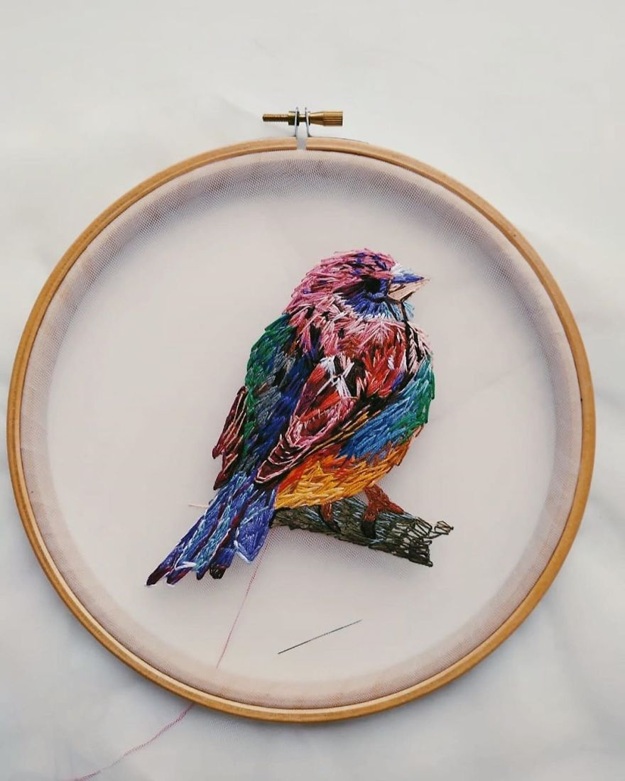 Hand Embroidery By Katerina Marchenko