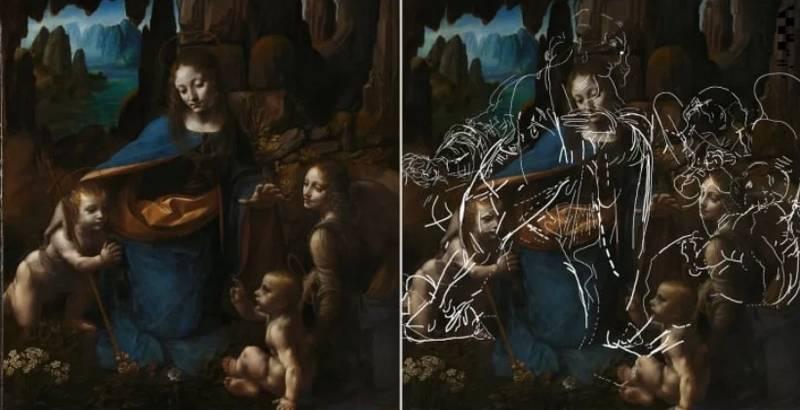 Hidden Sketches Underneath Da Vinci Masterpiece Revealed After 500 Years
