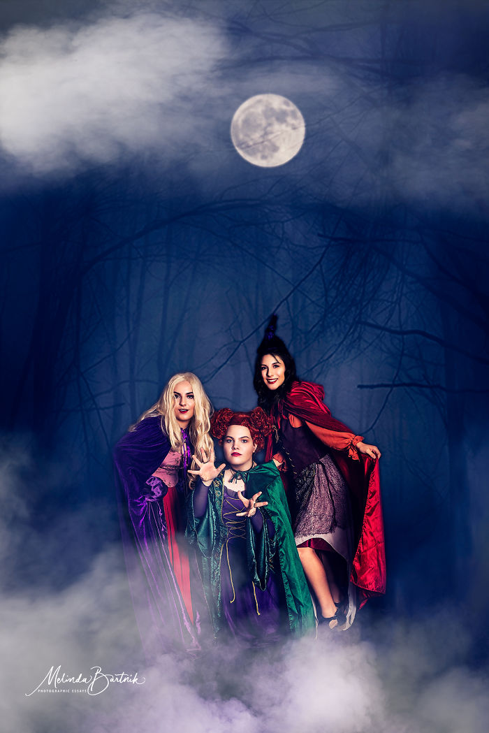 I Took 3 Of My High School Models And Did A Hocus Pocus Inspired Shoot