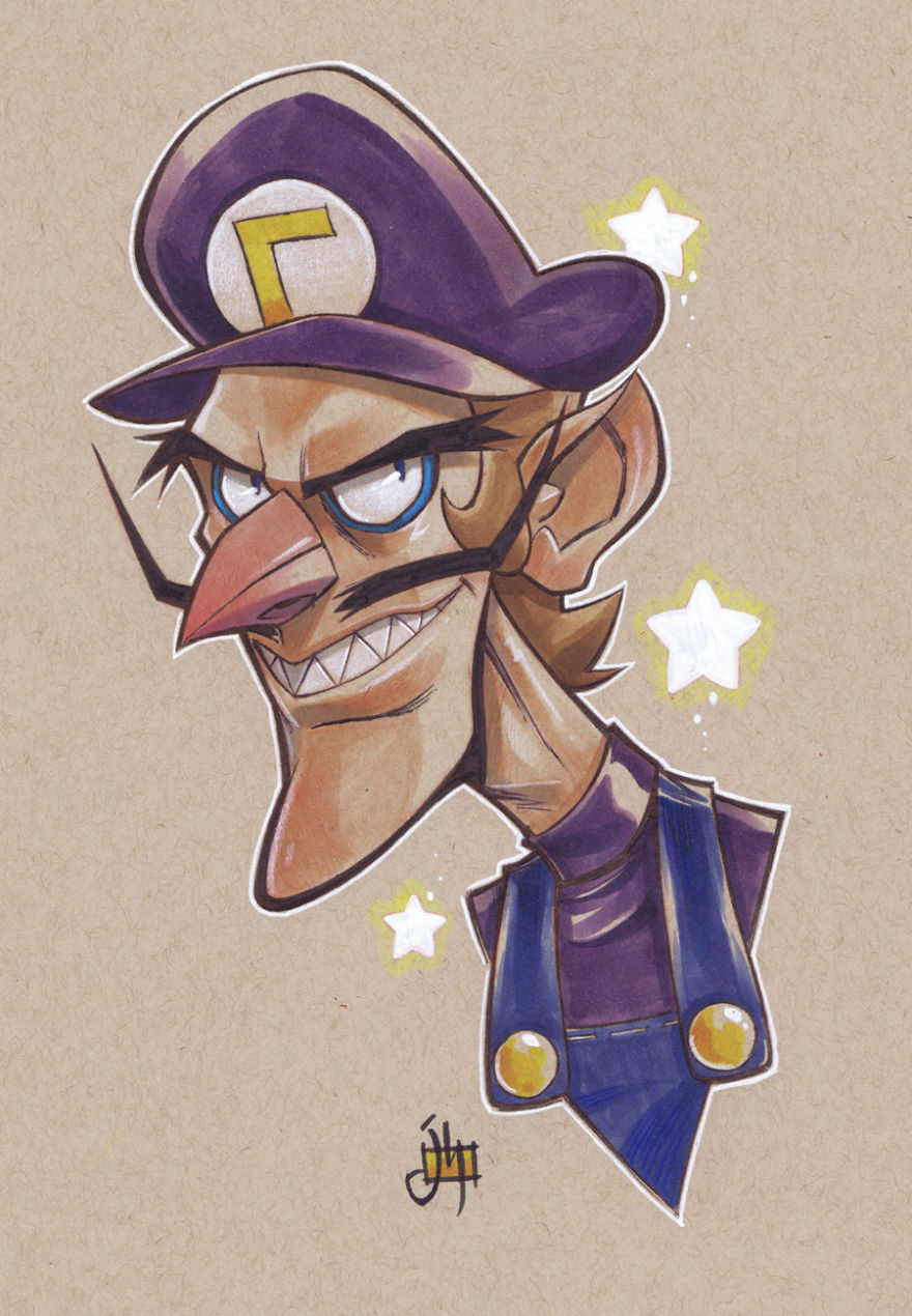Waluigi (Super Mario)