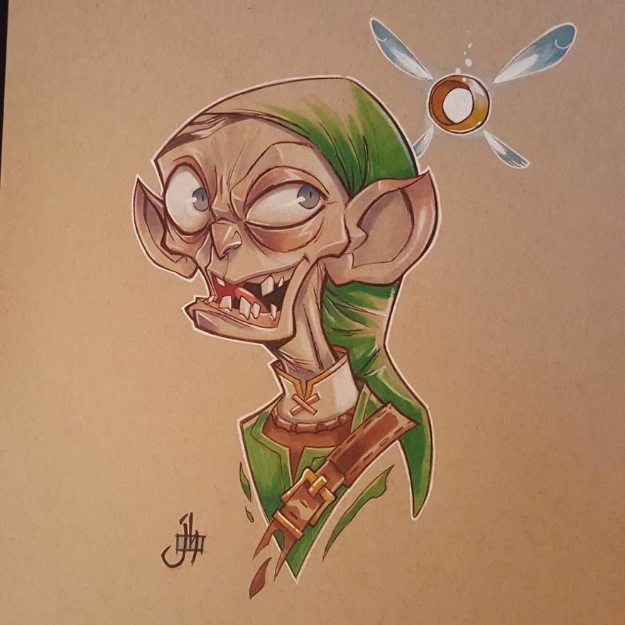 Link/Smeagol (Lord Of The Rings)