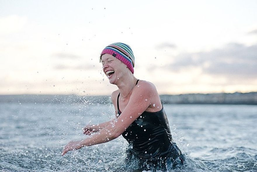 T Is Pretty Much Impossible To Go Cold Water Swimming Without A Massive Grin On Your Face