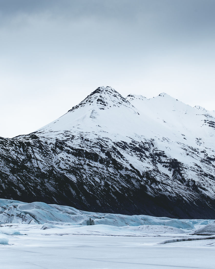 Snowy Peaks, And Glacier, What Else Can You Ask For