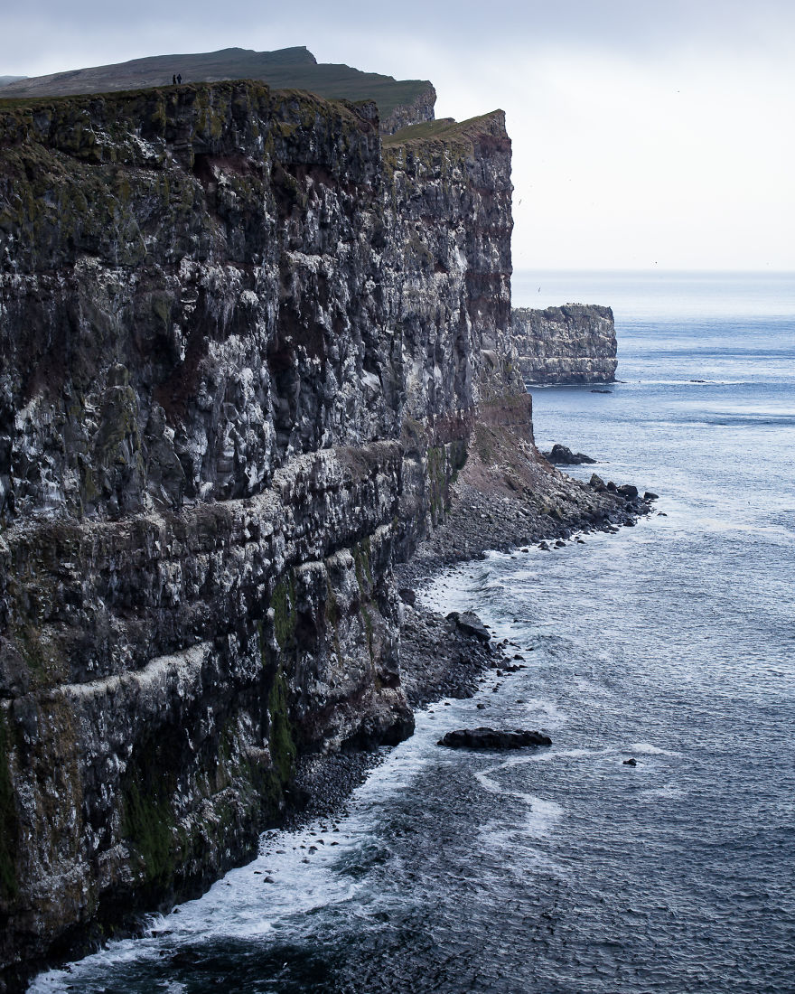 Latrabjarg Is The Westernmost Point In Iceland, And Home To Huge Colony Of Puffins