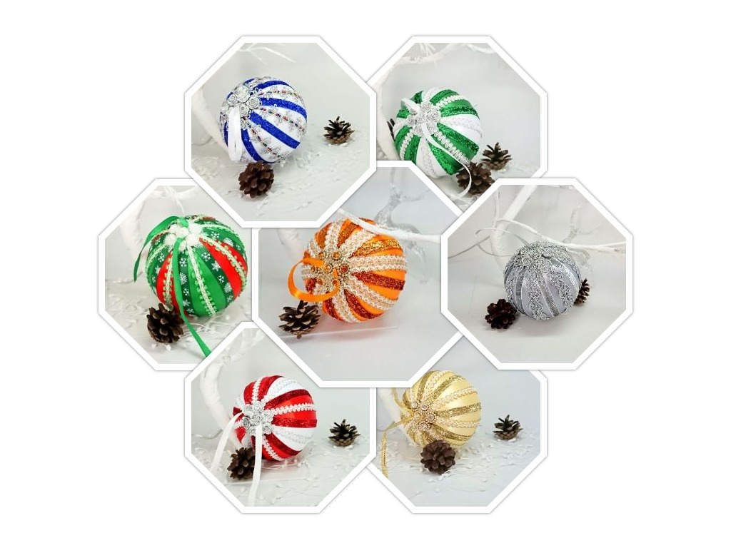Large Handmade Christmas Baubles. Different Ornaments For You🎄
