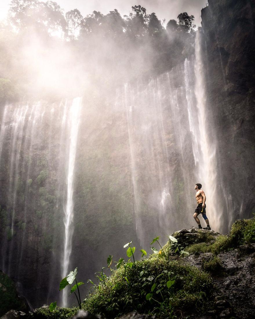 Indonesia's Largest Waterfall, Hugo Healy, UK
