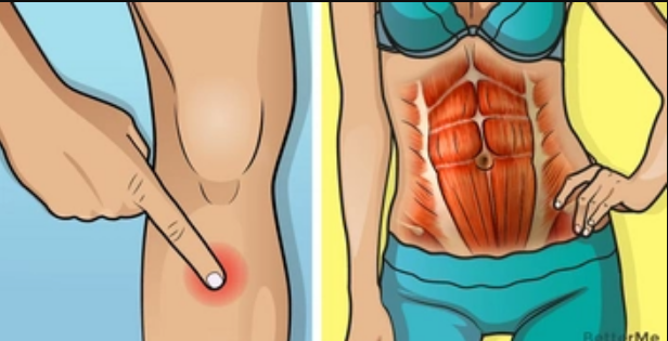 Massage these 4 points to lose weight77
