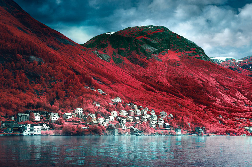 Norway In Infrared