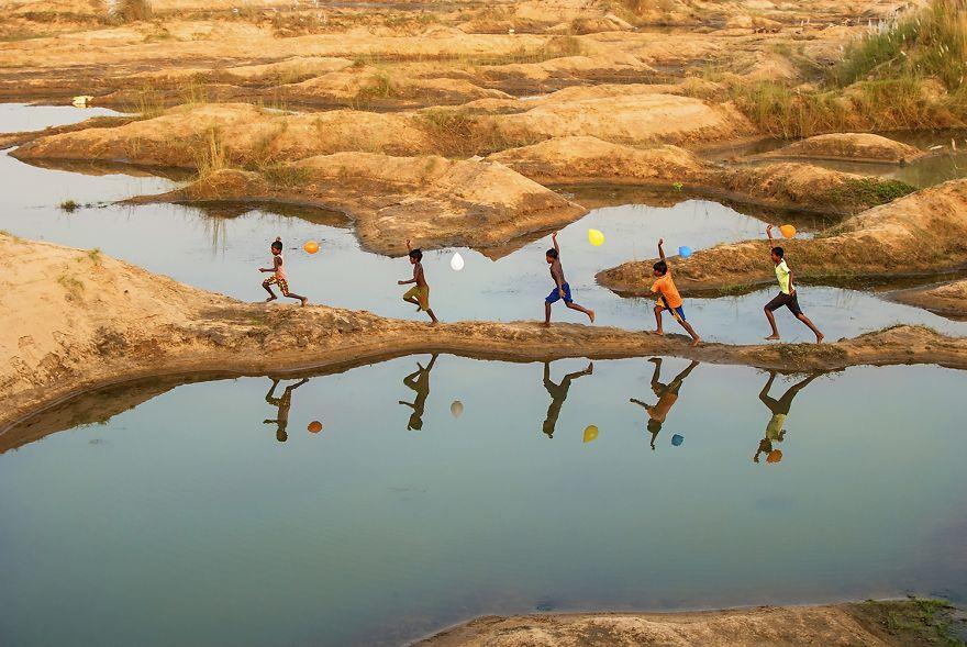 Rainbow Childhood, Sujit Saha, India