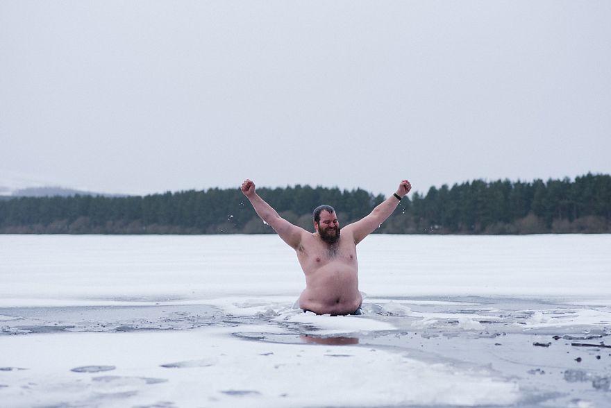 Smashing Through The Ice