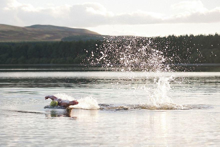 Sparkling Loch Swim