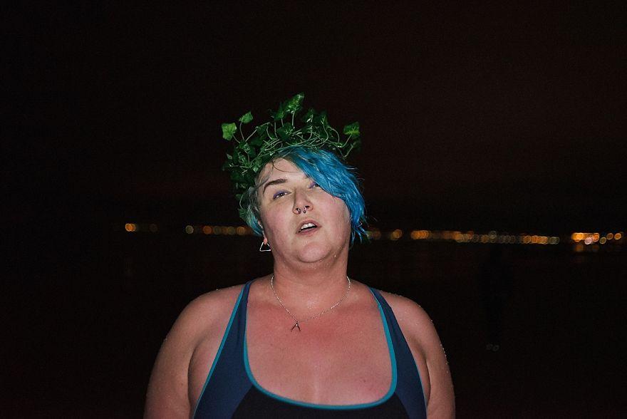 Midwinter Night Swim