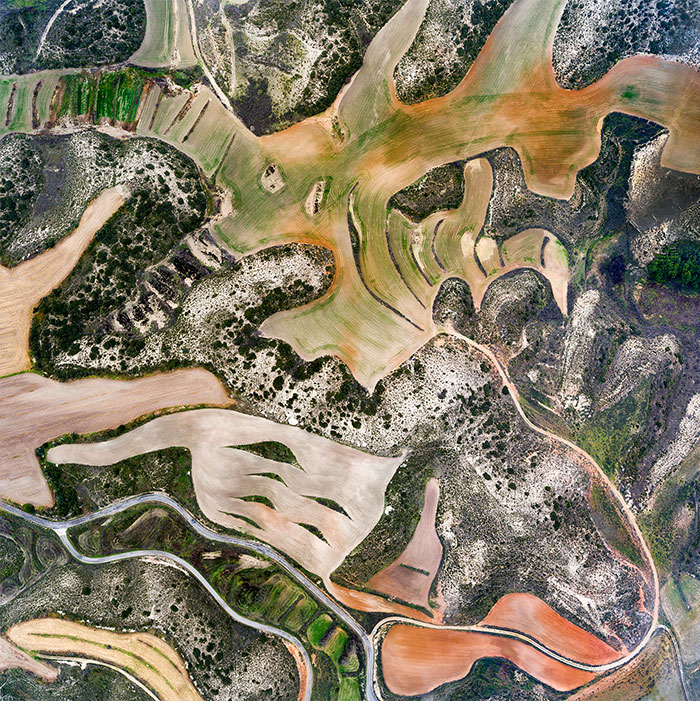 I Photographed Dry Spanish Farmlands That Resemble The Paintings Of Picasso, Miró, And Dalí