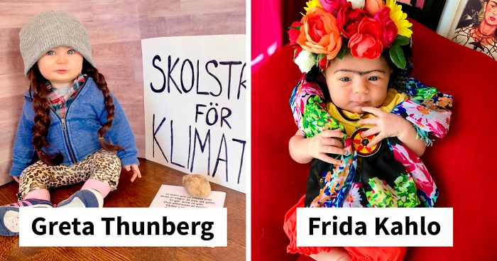 I Dress My Eighteen-Month-Old Daughter As Empowering Women Throughout History