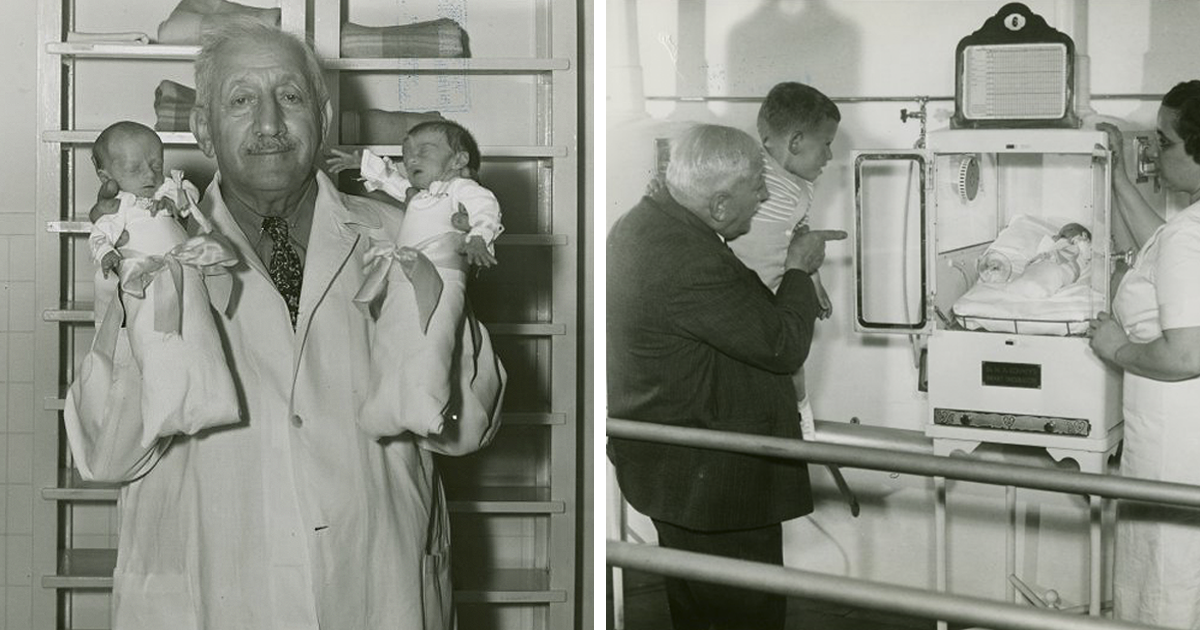 Fake Doctor In 1903-1940 Charged People $0.25 To See Premature Infants, Saving 6,500 Lives And Changing The Hi