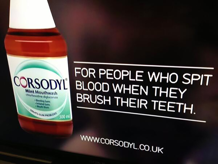For People Who Spit Blood When They Brush Their Teeth