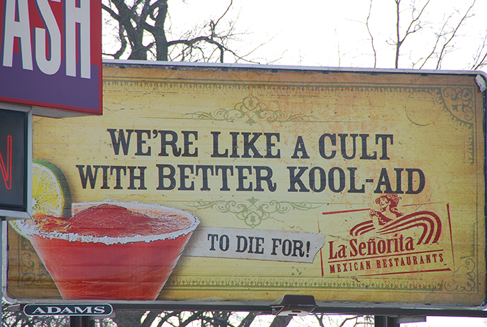 We're Like A Cult With Better Kool-Aid