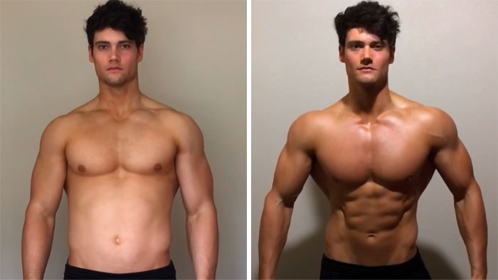 Guy Exposes How Fake Some Of The Before & After Pics On Instagram Are By Showing How To Do It