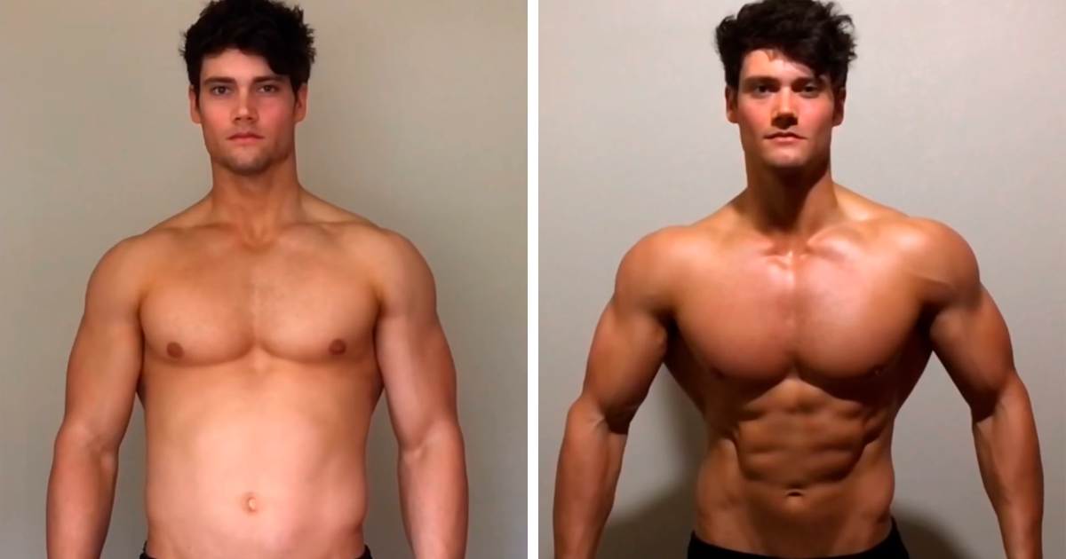 Bodybuilder Shows How You Can Make Your Physique Look Better In Just 10 Minutes