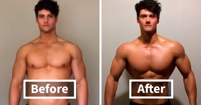 Guy Exposes How Fake Some Of The Before & After Body Transformation Pics On Instagram Are By Showing How To Do It