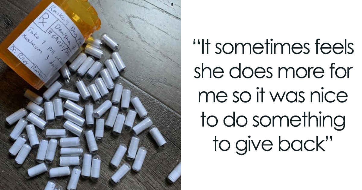 Boyfriend Makes 'Love Pills' To Help His Girlfriend Deal With Anxiety And Panic Attacks