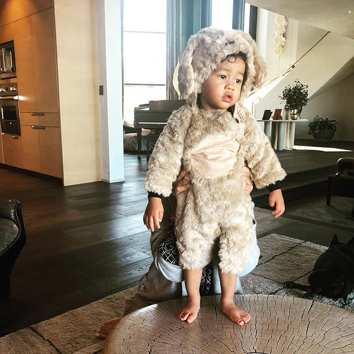 Chrissy Teigen And John Legend's Son Miles Dressed As A Puppy