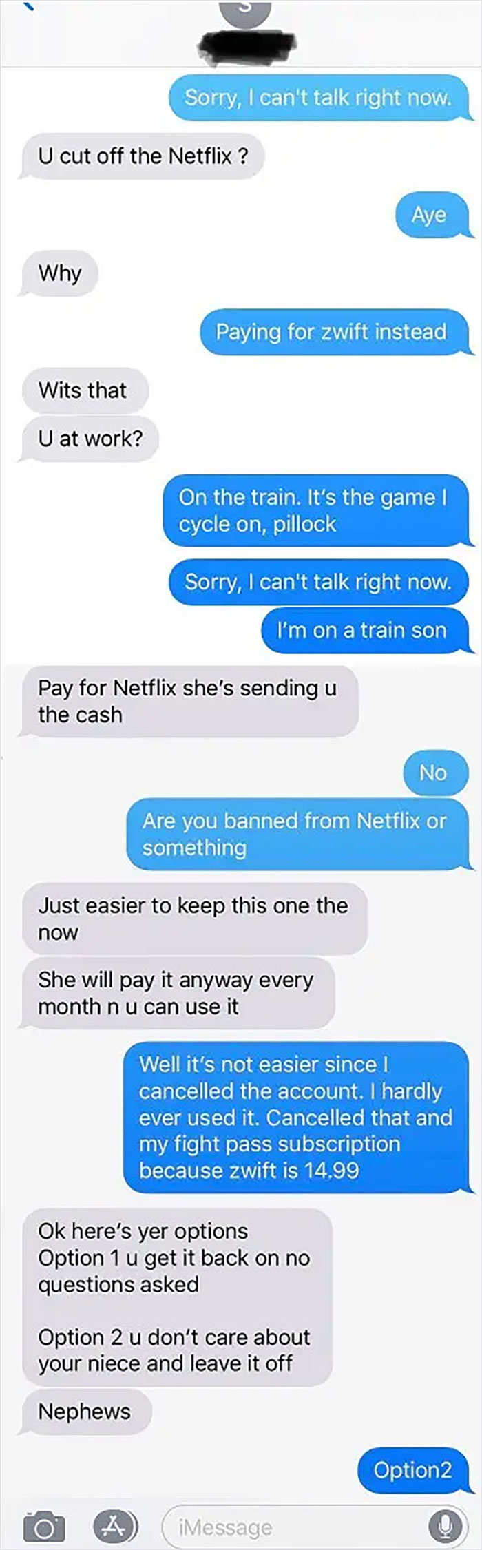 Brother Who Refuses To Work Tries To Emotionally Blackmail Me Over Netflix Subscription