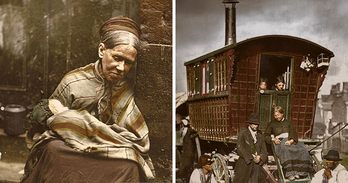 I Colourised 11 Photos From Over 140 Years Ago That Show The Street Life Of Victorian London