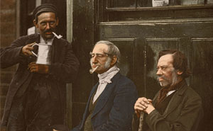 I've Colorized These Photos Of Street Life In Victorian London From Over 140 Years Ago