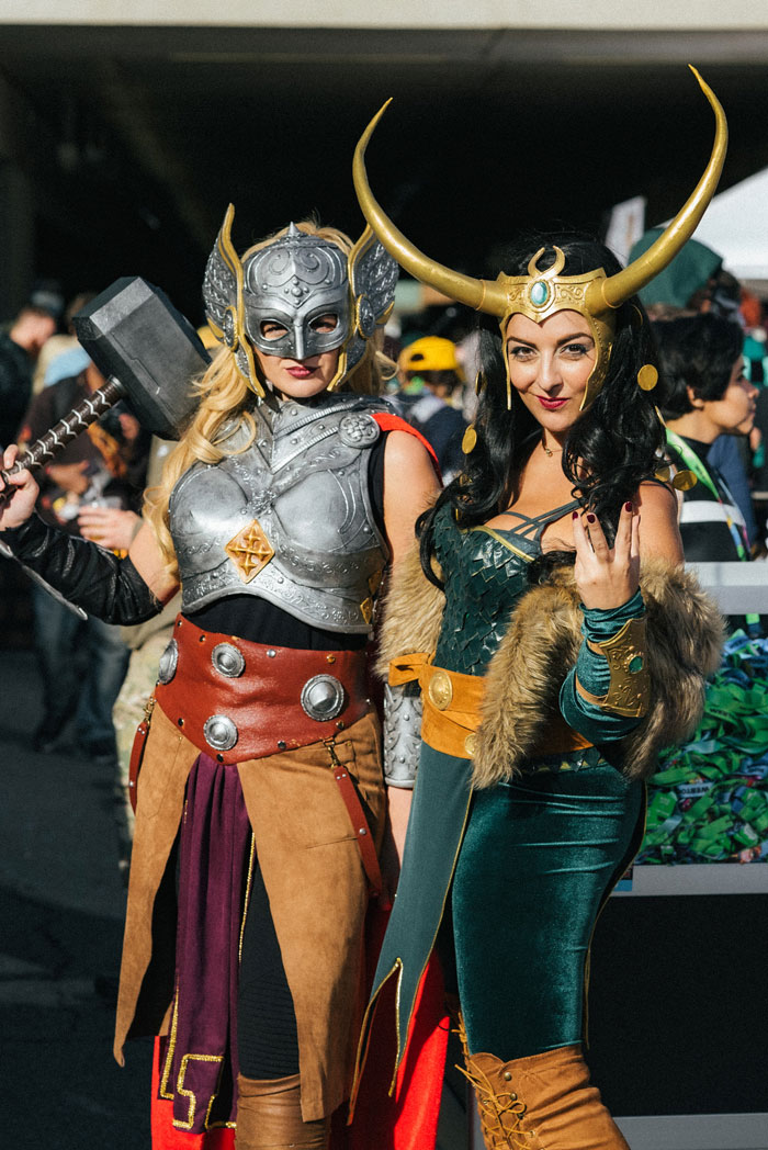 Jane Foster & Lady Loki