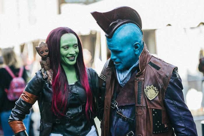 Groot, Gamora & Yondu