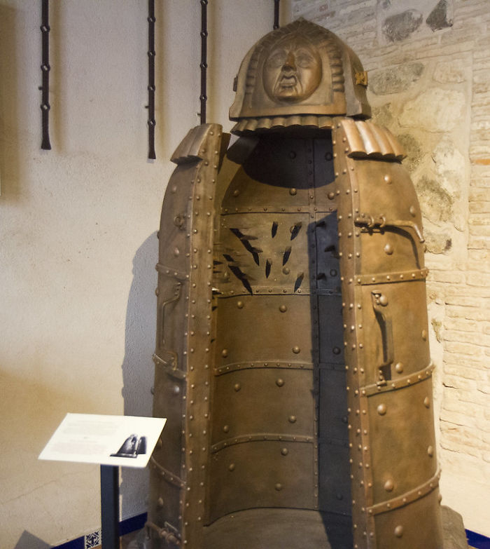 There Is No Evidence That Iron Maidens Were Used For Torture, Or Even Yet Invented, In The Middle Ages